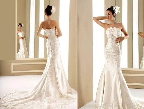 Mermaids Wedding Dresses Styles