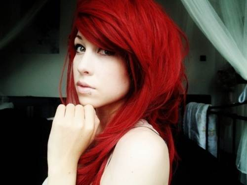 Red Hair dye Ideas 2013