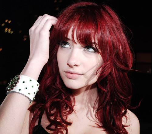 Red Hair dye Ideas Tumblr