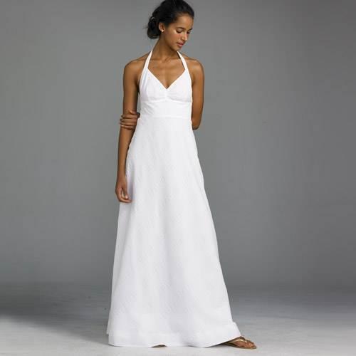 White Beach Dresses for Weddings