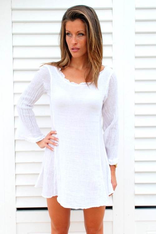 Beach Dress White Options