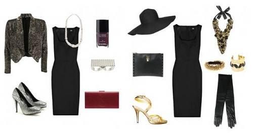 Black Dress Accessories Ideas