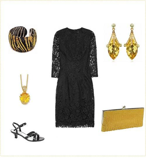 Black Dress Accessories Should Wear