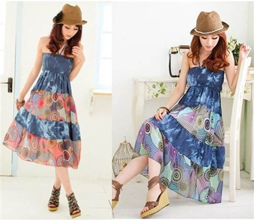 Bohemian Dresses for Girls Styles