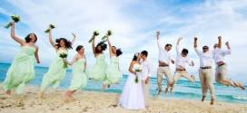 Bridesmaid Dresses Beach Wedding in Bright Colors Collection