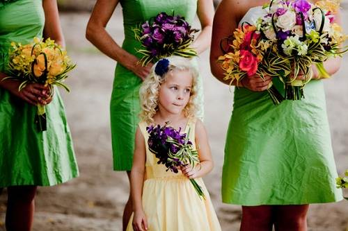 Bridesmaid Dresses Beach Wedding Ideas