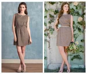 Bridesmaids Vintage Dress Samples