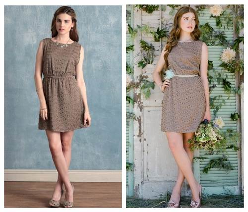 Bridesmaids Vintage Dress Samples