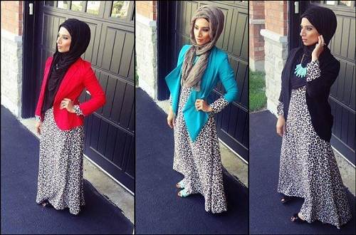 Cheetah Dresses for Teenagers Hijab