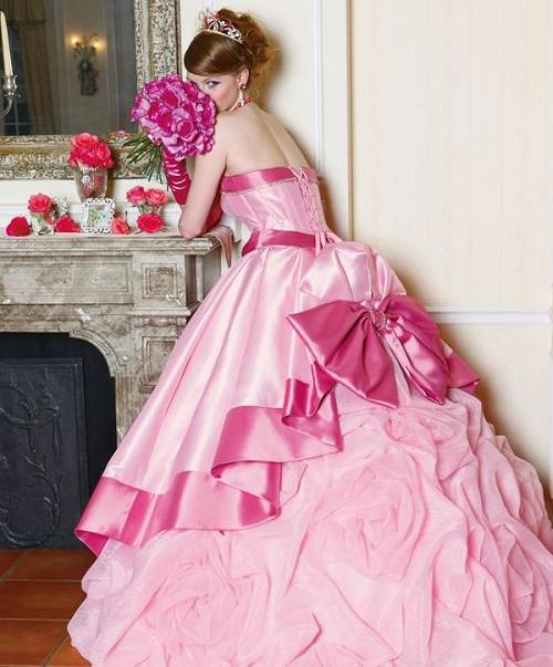 Cute Pink Dress Designs
