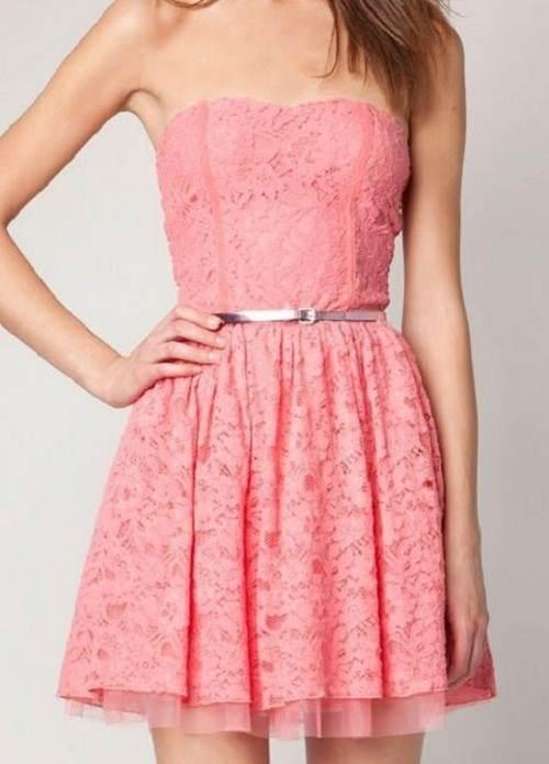 Cute Pink Dress Tumblr