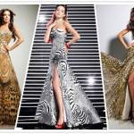 Dresses with Zebra Print 2013