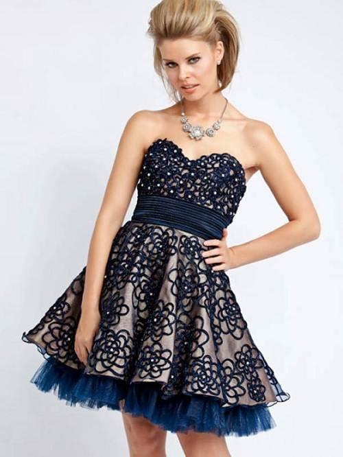 Gothic Short Prom Dresses Ideas