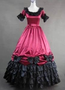 Gothic Short Prom Dresses Pictures