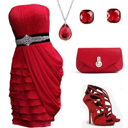 Graduation Party Dresses Red