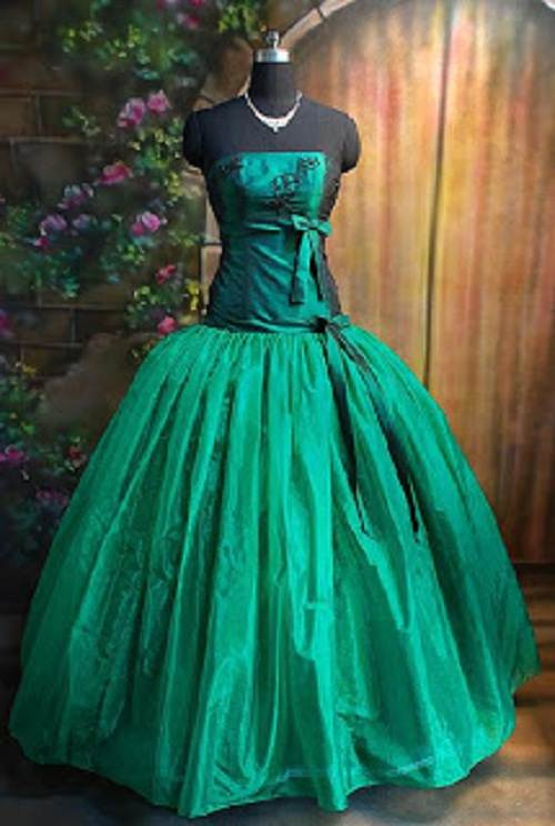 Green Prom Dress Tumblr