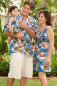 Hawaiian Dress for Men and Family