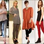 Legging Wear with Dress Casual