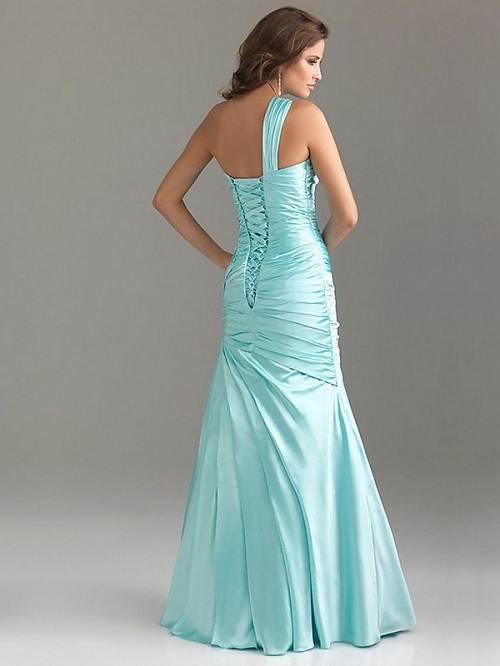 Light Blue Prom Dress Long Designs