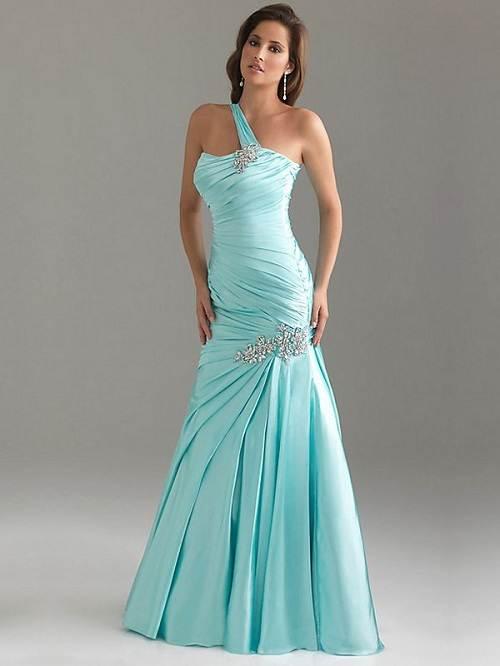 Light Blue Prom Dress Long Images