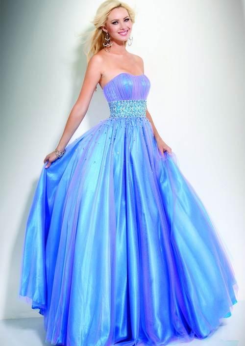 Light Blue Prom Dresses under 100