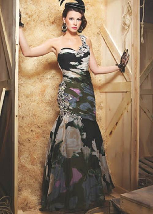Long Formal Camo Dresses on Sale