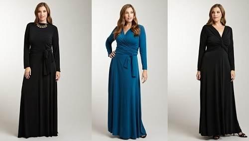 Long Sleeve Maxi Dresses for Women Models