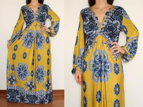 Long Sleeve Maxi Dresses for Women summer