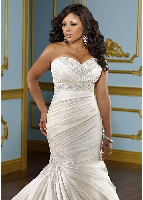 Mermaid Wedding Dresses for Plus Size Prices