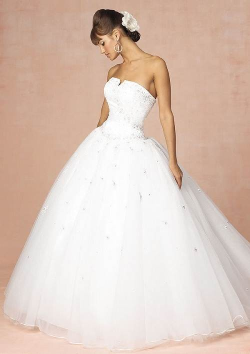 Princess Wedding Dress White