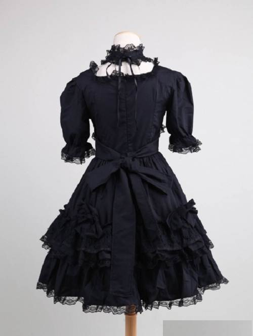 Short Gothic Dresses for Prom