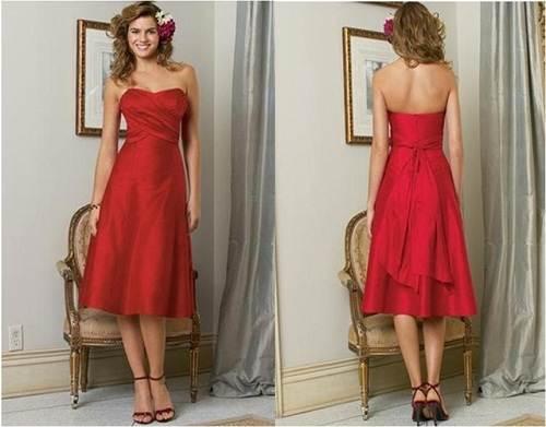 Strapless Red Dress Forever 21