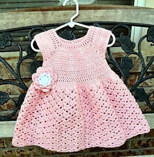 Toddler Crochet Dresses Models