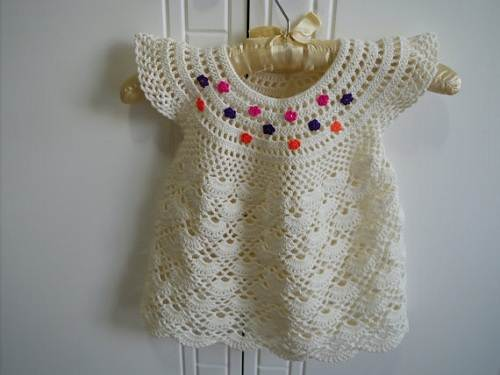 Toddler Crochet Dresses Patterns