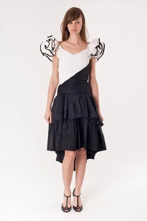 Tuxedo Prom Dress for Women 2013