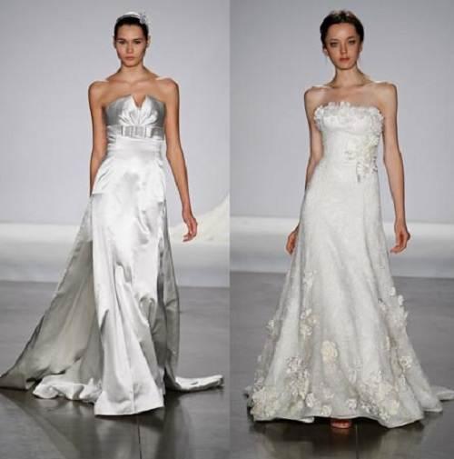 White Beach Wedding Dresses Casual 2013