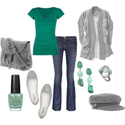 Women Casual Dress in Green