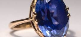 Blue Sapphire Rings for Men Fashion Style