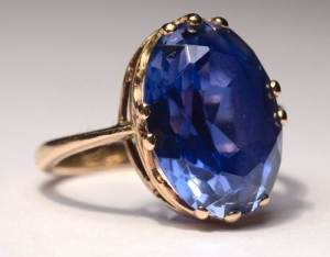 Blue Sapphire Rings for Men 2013