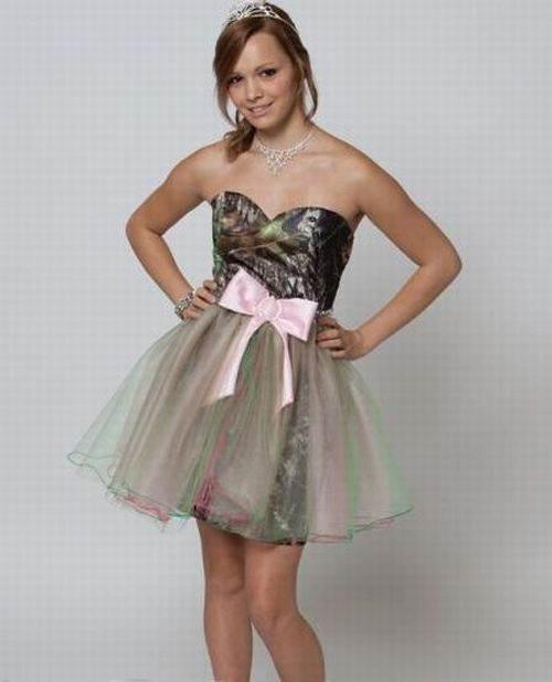Camo Grad Dress 2013