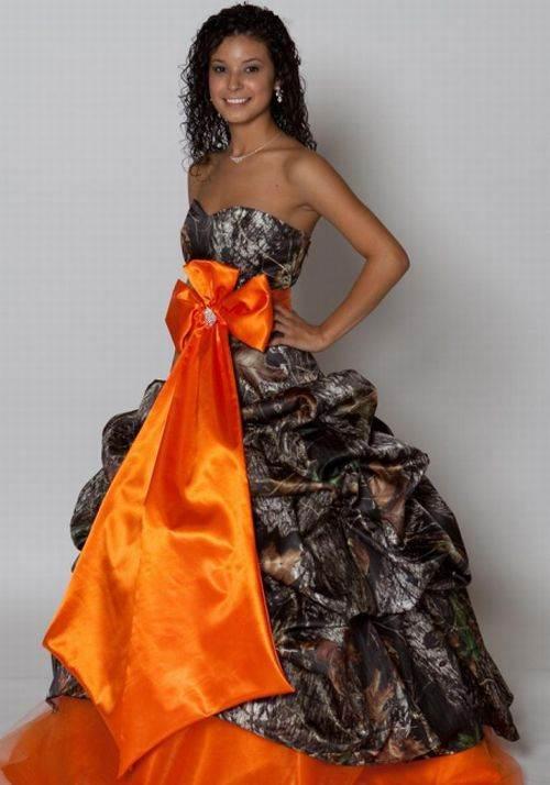 Camo Grad Dress Images