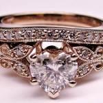 Diamond Butterfly Engagement Rings Women 2013