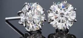 Diamond Earrings for Men in Stud Models