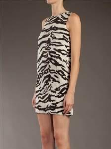 Dolce Gabbana Zebra Dress Concept