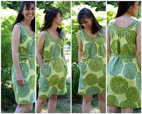 how to make a simple shift dress without a pattern
