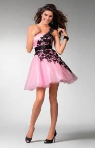 Grad Dresses Short Pink