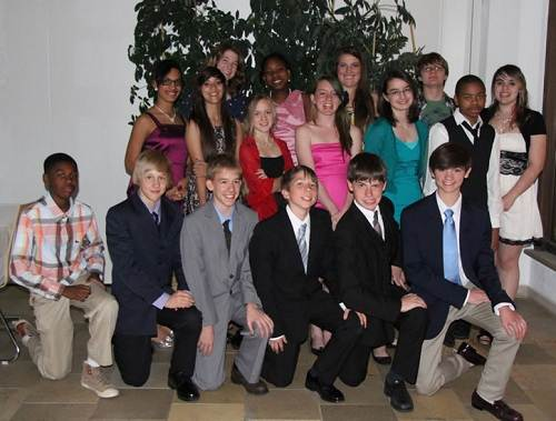 Graduation Dress Elementary Photo