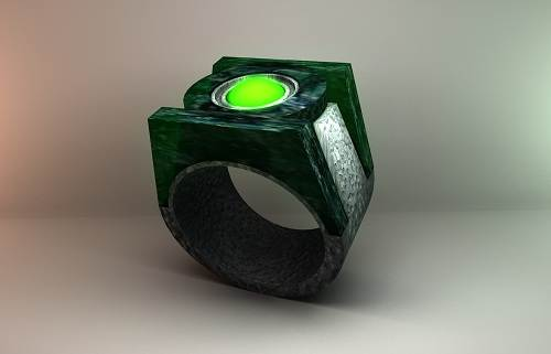 Green Lantern Ring Real