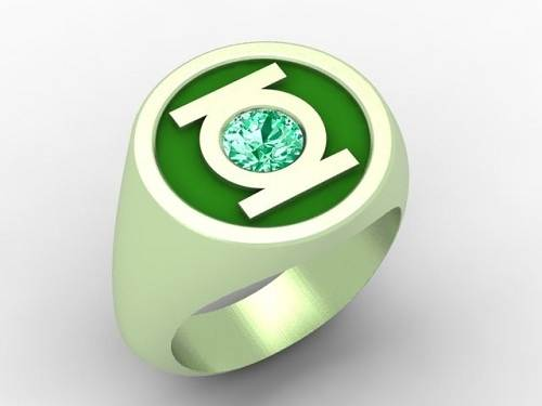 Green Lantern Ring Replica