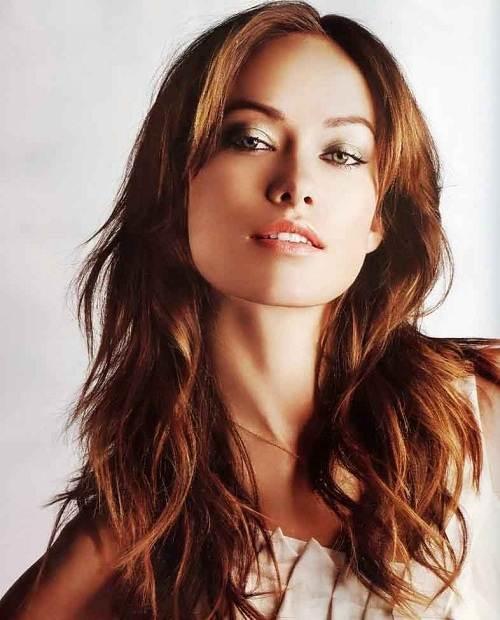 Long Auburn Brown Hair For Women Fashion Female